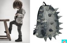 Krokodil mintás, szuper COOOL hátizsák!