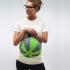 Zöld strandlabdás terhes póló